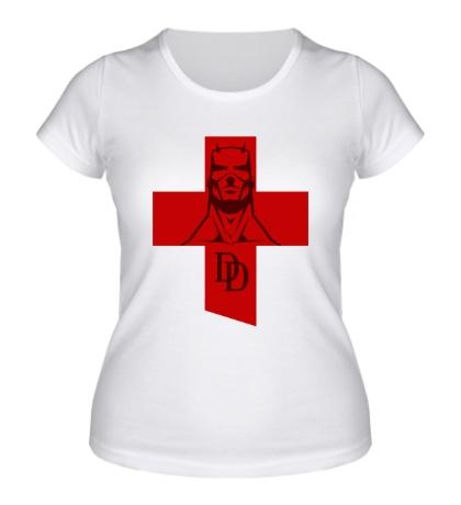 Женская футболка Daredevil Symbol
