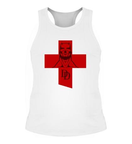 Мужская борцовка Daredevil Symbol