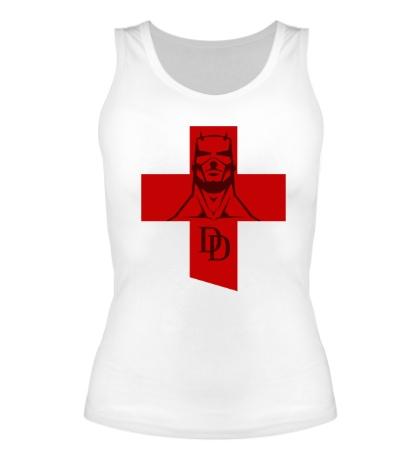 Женская майка Daredevil Symbol