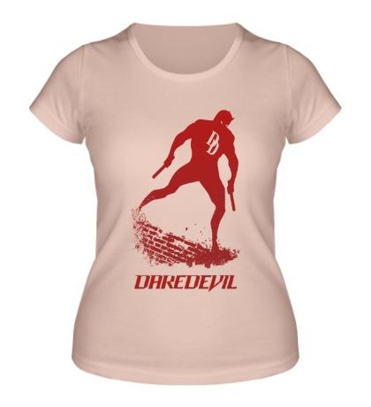 Женская футболка Daredevil
