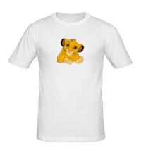 Мужская футболка Маленький Симба