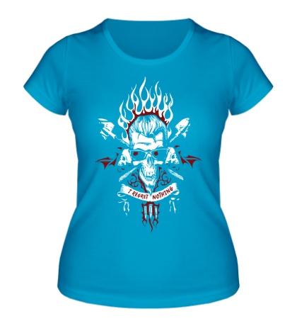 Женская футболка Postal Dude