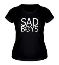Женская футболка Sad boys