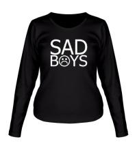 Женский лонгслив Sad boys