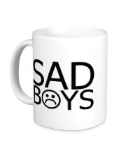 Керамическая кружка Sad boys