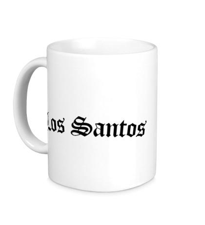 Керамическая кружка Los Santos