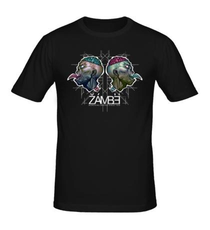Мужская футболка Черепа зомби
