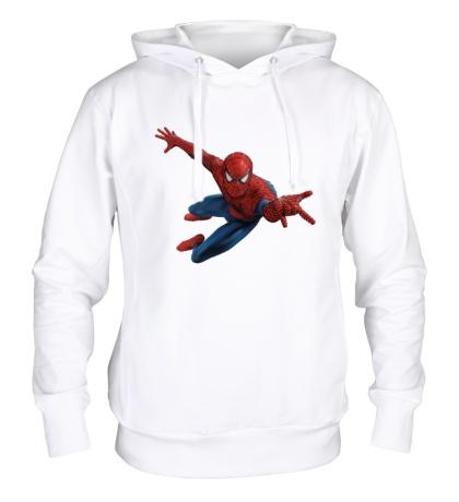 Толстовка с капюшоном Летящий Человек-Паук