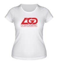 Женская футболка LGD Gaming Team