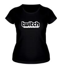 Женская футболка Twitch Streaming