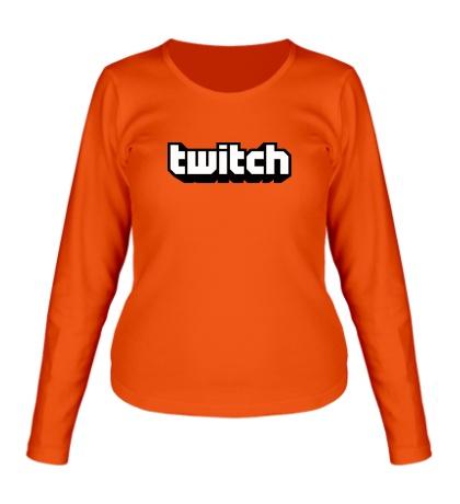 Женский лонгслив Twitch Streaming