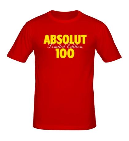 Мужская футболка Absolut 100