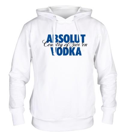 Толстовка с капюшоном Absolut Vodka