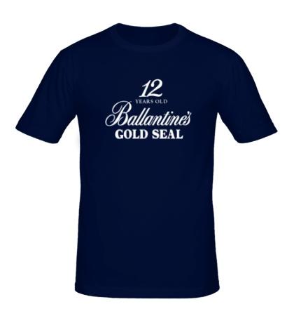 Мужская футболка Ballantines Gold Whisky