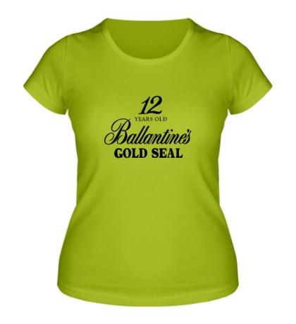 Женская футболка Ballantines Gold Whisky