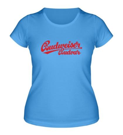 Женская футболка Budweiser Budvar