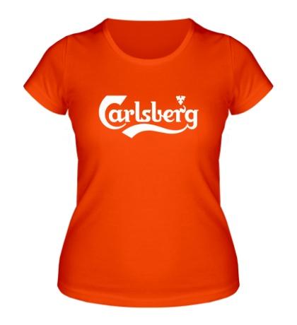 Женская футболка Carlsberg Beer