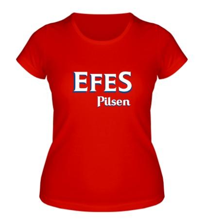 Женская футболка Efes Pilsen