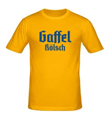 Мужская футболка Gaffel Kolsch Beer