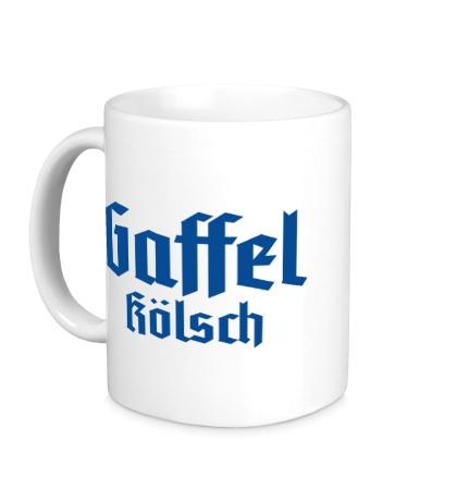Керамическая кружка Gaffel Kolsch Beer