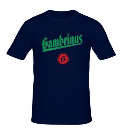 Мужская футболка Gambrinus Beer