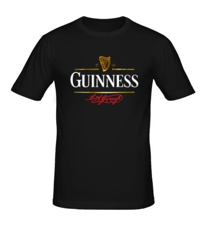 Мужская футболка Guinness Beer