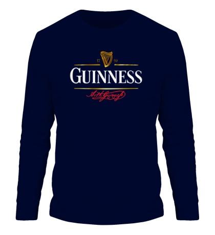 Мужской лонгслив Guinness Beer