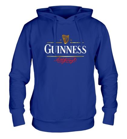 Толстовка с капюшоном Guinness Beer