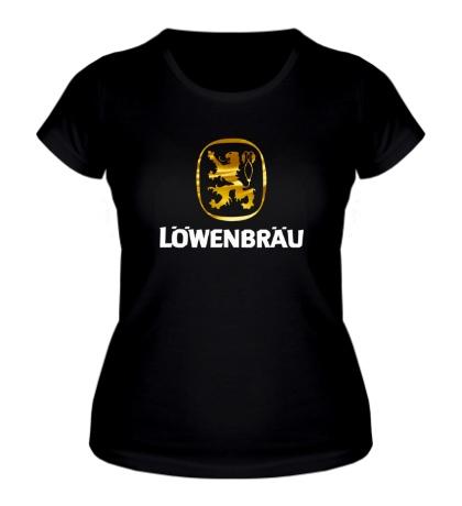 Женская футболка Lowenbrau Beer