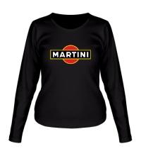 Женский лонгслив Martini