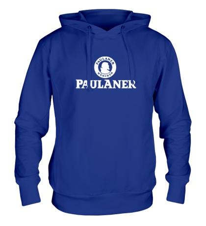 Толстовка с капюшоном Paulaner Beer