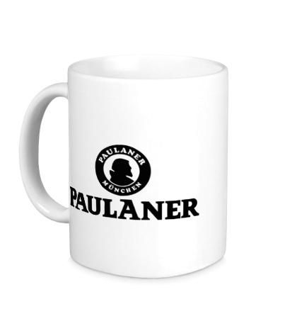 Керамическая кружка Paulaner Beer