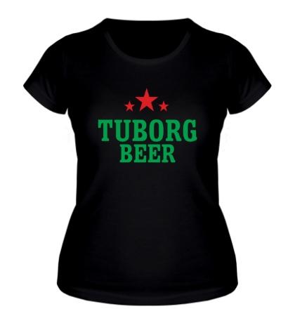 Женская футболка Tuborg Beer