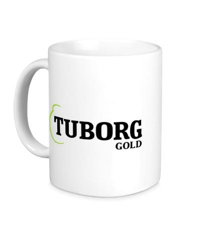 Керамическая кружка Tuborg Gold