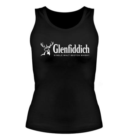 Женская майка Glenfiddich logo
