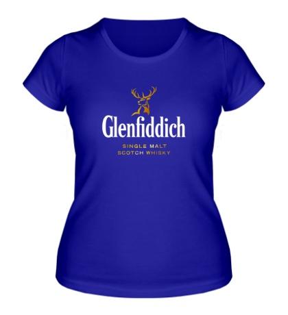 Женская футболка Glenfiddich: Scotch Whisky
