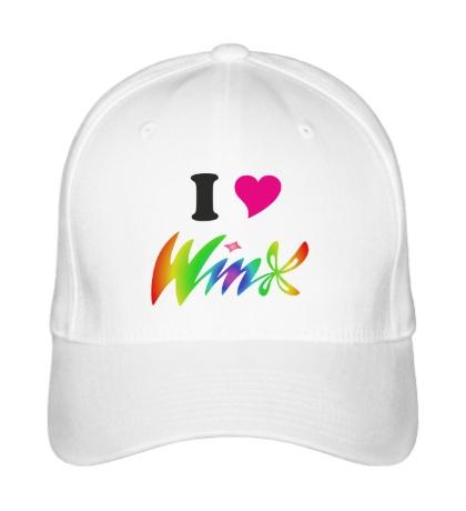 Бейсболка I love Winx