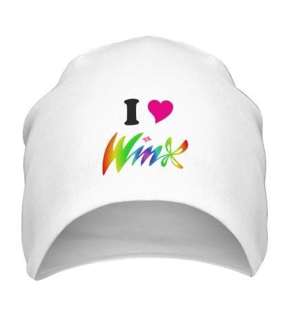Шапка I love Winx