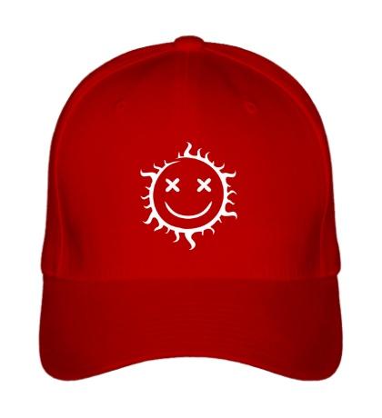 Бейсболка Позитивное солнце