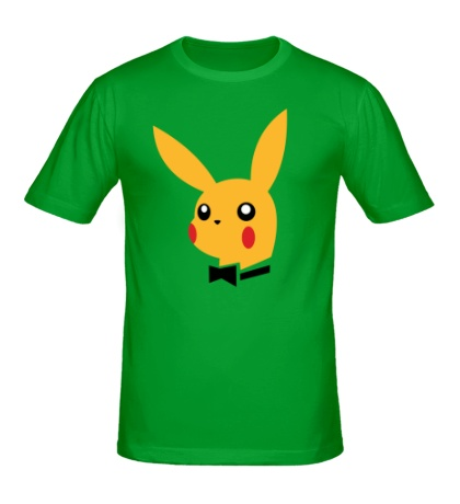 Мужская футболка Pikachu Playboy