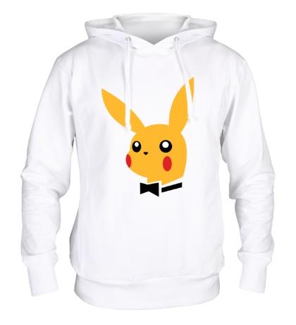 Толстовка с капюшоном Pikachu Playboy