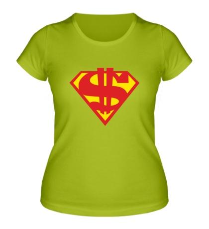 Женская футболка Rich Superman