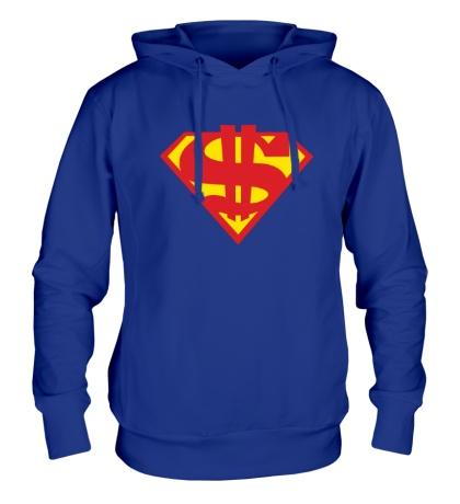 Толстовка с капюшоном Rich Superman