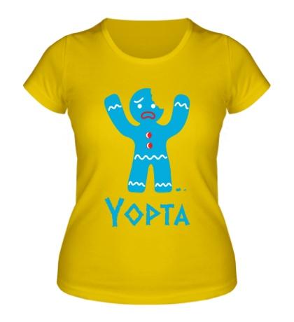 Женская футболка Yopta Cookie