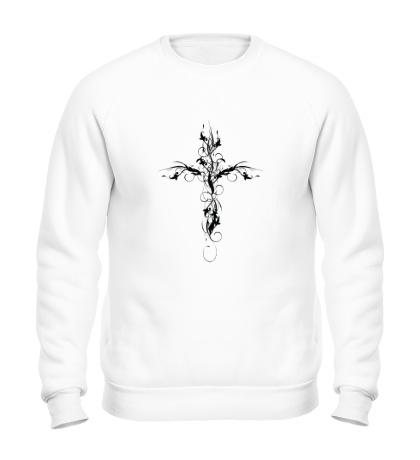 Свитшот Ажурный крест