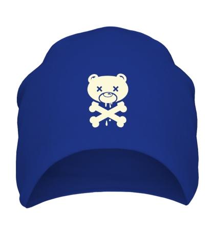 Шапка Медведь пират, свет