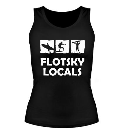 Женская майка Flotsky locals