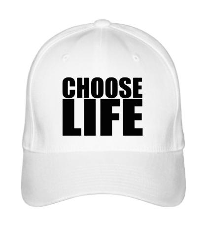 Бейсболка Choose life