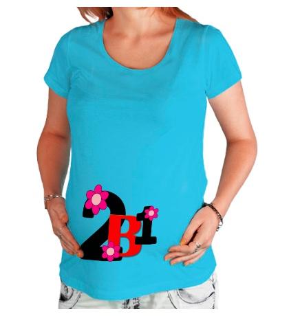 Футболка для беременной 2 в 1
