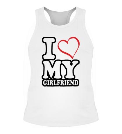 Мужская борцовка I love my girlfriend